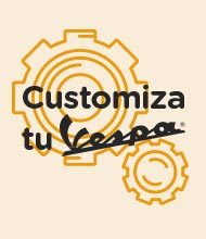Customiza tu vespa